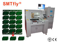 80mm / s PCB Depaneling Router Equipment، آلومینیوم PCB روتر ماشین SMTfly-F04